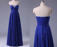 Royal Blue Prom Dresses