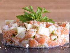 Receta | Tartar de salmón y manzana - canalcocina.es