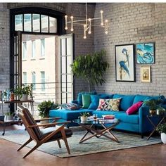 25+ Most Stylish Industrial Living Room Ideas with Unique Decor | RecipeGood