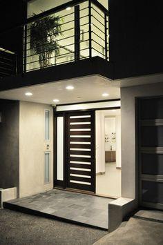 Curson House modern entry
