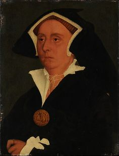 Lady Rich (Elizabeth Jenks), workshop of Hans Holbein, ca. 1536; MMA 14.40.646