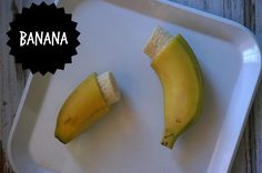 baby led weaning first food ideas- banana