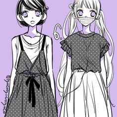 Miou and Alice Hirunaka No Ryuusei, Otaku Mode, Kawaii, Character Illustration, Me Me Me Anime, Online Art, Anime Manga, Romance, Animation