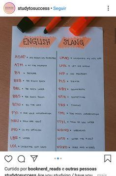 Teaching English Grammar, English Writing Skills, English Vocabulary Words, English Phrases, English Language Learning, English Lessons, Slang English, English Class, English Time