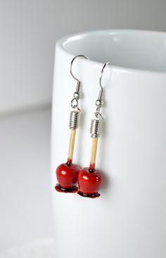 Boucles d'oreilles gourmandes bijoux gourmands par LaFeeGourmande