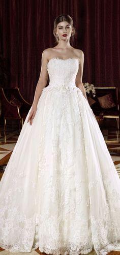 Wedding dress idea; Featured Dress: Intuzuri