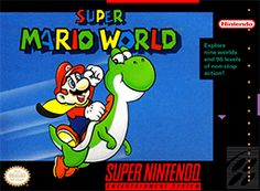 Super mario world was one of the best mario games ever and actually  the first mario game i ever played