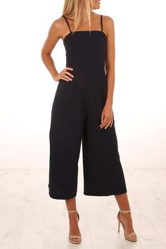 Searching For You Jumpsuit Navy