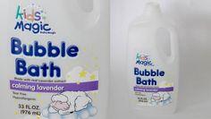 Calming Lavender Bubble Bath by Kids Magic - Review