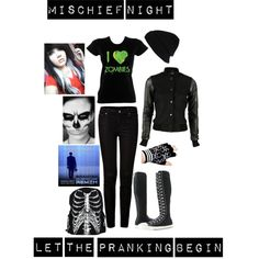 """""""mischief night"""" by rebecca41622 on Polyvore"""