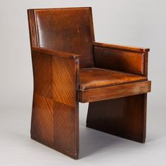 French Art Deco Macassar Chair