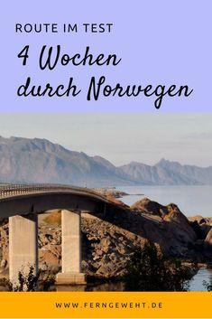 Test route: 4 weeks through Norway - Beste Reisetipps 2019 Places To Travel, Places To See, Travel Destinations, Lofoten, Norway Roadtrip, Europa Tour, Alesund, Reisen In Europa, Visit Norway