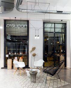Интерьер парикмахерского салона Noguera
