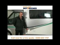Motorhome hire and campervan rental Scotland - Call 0131 502 1980