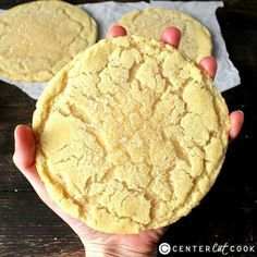 These Jumbo Sugar Cookies are just as delicious as the ones from a bakery and are so easy to make which means they can be enjoyed anytime!   Recipe: http://www.centercutcook.com/jumbo-sugar-cookies/