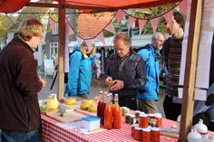 Cranberrymarkt op Vlieland. www.cranberryweekvlieland.nl