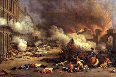 La revolución se enfrentó duramente con la Iglesia católica que pasó a depender del Estado. En 1790 se eliminó la autoridad de la Iglesia de imponer impuestos sobre las cosechas, se eliminaron también los privilegios del clero y se confiscaron sus bienes