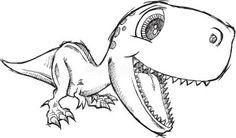 cute dinosaur tattoos - Google Search