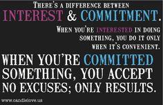 interest & commitment