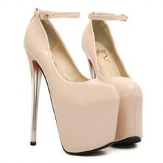 $21.36 Club Women's Pumps With Patent Leather and Sexy High Heel Design