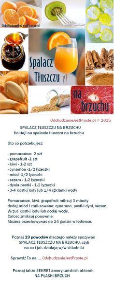 Koktajl na płaski brzuch – spala tłuszcz na brzuchu | O… na Stylowi.pl