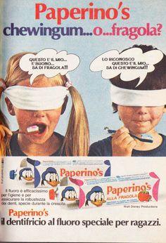 Dentifricio Paperino's 1974