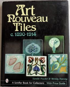 Large A4 book for the new collector of Art Nouveau tiles, quite a few errors, but will give the new collectors a insight to the beauty and colour of Art Nouveau tile.