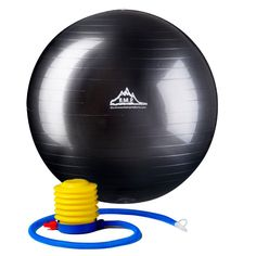 2000 Lbs. Static Strength Stability Ball with Pump | $14.99 USD | Perfect for planking and a good item to rotate with a desk chair + kneeling chair + standing desk to rebuild strength and posture without tiring any single muscle group.  Bending over was a serious process when I started using this, so the foot-operated pump was an unexpected and enormous perk.