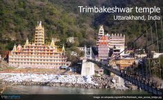 #Trimbakeshwar temple or #TeraManzilTemple is located in Rishikesh (Uttarakhand). It's a 13 story high temple dedicated to Lord Shiva with different deities placed throughout the building. Check out other places to visit in #Rishikesh.