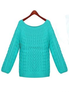 Leisure Women's O-Neck Full Sleeve Solid Color Loose Pullover on buytrends.com