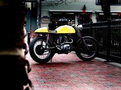 BSA 500 Cafe.