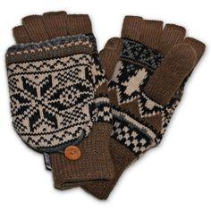 For HIM: MUK LUKS Mens Traditional Nordic Flip Glove