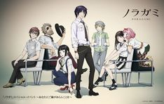 Image result for noragami poster