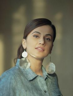 Taapsee Pannu, Most Beautiful Women, Bollywood Actress, Fashion Outfits, Fashion Tips, Crochet Earrings, Actresses, Drop Earrings, Models