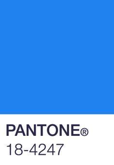 pantone blue