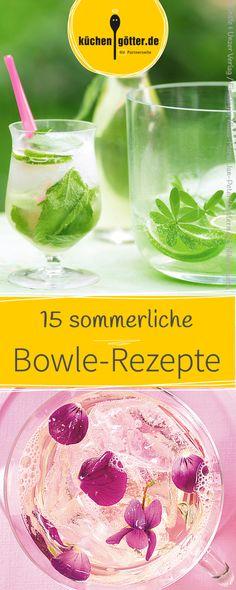 Egal ob Waldmeister-, Prinzessinnen- oder Japan-Bowle. Wir haben Bowle-Rezepte von klassisch bis exotisch.