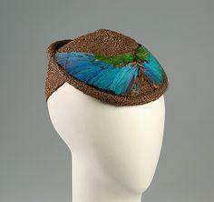Hat - Lucien Rabate for Caroline Reboux, 1940