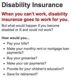 different disability insurance products are available to help protect you and your family against severe financial hardship that may accompany a disability. Buy Life Insurance Online, Life Insurance Premium, State Farm Insurance, Insurance Humor, Insurance Marketing, Life Insurance Quotes, Car Insurance Tips, Insurance Business, Health Insurance