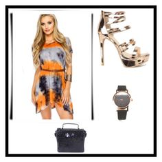 """""""Candy Color Craze"""" by amiclubwear ❤ liked on Polyvore featuring flowydress, amiclubwear and rosegoldheels"""