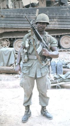 Soldier of the 14th Infantry Regiment, 25th Infantry Division, 1969. - Vietnam War
