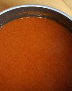 Homemade Enchilada Sauce- the reviews on this recipe confirm that it's the best-ever tasting sauce.  You'll never buy canned again!