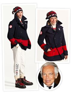 Ralph Lauren's Team USA Olympic Uniforms Are Worthy of a Gold Medal Ralph Lauren Olympics, Olympic Village, Usa Olympics, Olympic Team, Team Usa, Athlete, Active Wear, Sports, How To Wear