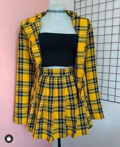Girls Fashion Clothes, Teen Fashion Outfits, Stage Outfits, Edgy Outfits, Cute Casual Outfits, Retro Outfits, Cute Fashion, Look Fashion, Girl Fashion