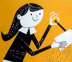 From Friction All Around, 1960, illus by Bernice Myers