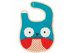 Skip Hop - Zoo Tuck-Away Bib Owl: Most baby and toddler bibs get quickly stained and contribute to your laundry pile. Our Zoo Fold & Go Silicone Bib e The Zoo, Mochila Skip Hop, Baby Owls, Baby Boy, Skip Hop Zoo, Mamas And Papas, Baby Feeding, Burp Cloths, Bibs