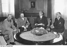 Great Britain, France and the Soviet Union, alluded to the peace agreement of 1919 that did not permit such union. Hitler made the claim that this portion of Czechoslovakia was the last territorial claim in he will pursue in the European continent. Consequently, Prime Minister Neville Chamberlain of Great Britain and Premier Edouard Daladier of France met with their German and Italian counterparts,resulting in the British and French leaders' giving into the Nazi leader's proposition.
