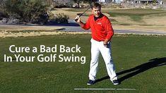 Cure Bad Back Golf Swing #GolfTipsForYouGuys