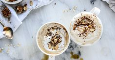 Caffeine meets power breakfast: Oatmeal Lattes Might Be the Greatest Breakfast Mash-Up Ever Power Breakfast, Breakfast Time, Best Breakfast, Breakfast Recipes, Breakfast Bowls, Breakfast Ideas, Appetizers For Party, Appetizer Recipes, The Oatmeal