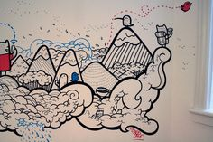 Capsule CRM Mural