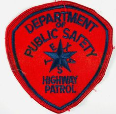 Texas Department Of Public Safety DPS Highway Patrol Trooper Police Patch Texas Department, Patches For Sale, Police Patches, Sheriff, Free Items, Safety, Public, Badges, Ebay